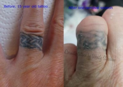 one session healed Artist Wendy Strachan weblight